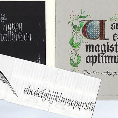 New Calligraphy Class Starts Sept. 27